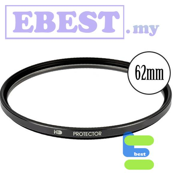 Super Slim High Performance UV Protection Lens Filters for 62mm