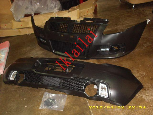 Suzuki Swift '05 Front+Rear Bumper Swift Sport Free Grille+DRL[ABS]