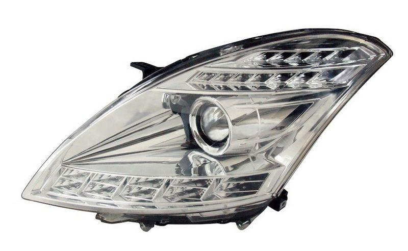 Suzuki Swift 13 Face Projector Head lamp LED DRL R8