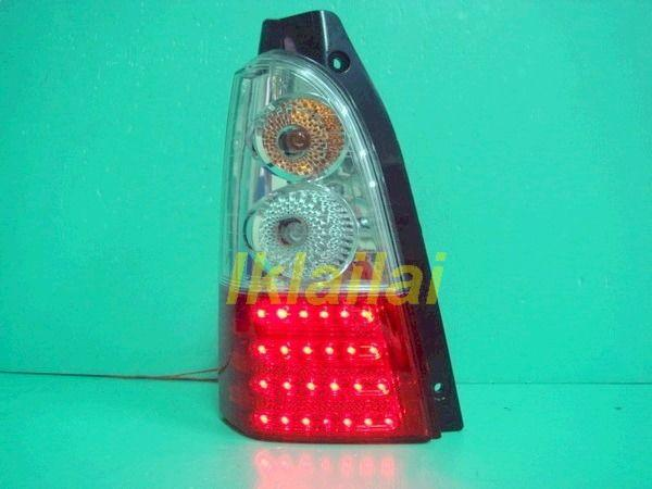 Suzuki Wagon Solio LED Tail Lamp [Black / Red or Clear / Red Housing]