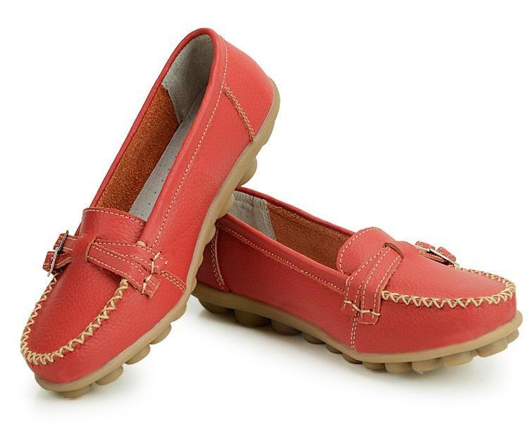 Brown Ankle Ladies Shoes Malasia