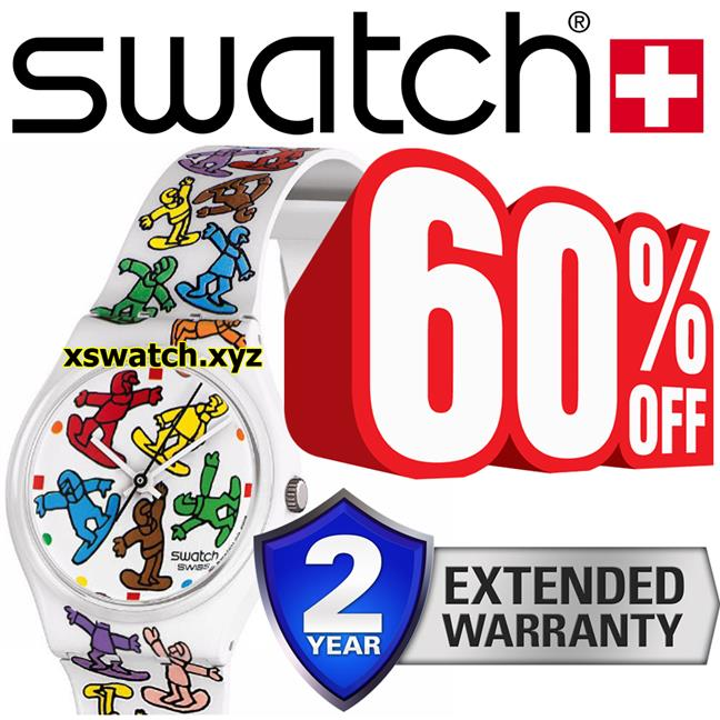 swatch big ride watch (60% OFF) with 2 YEARS warranty!