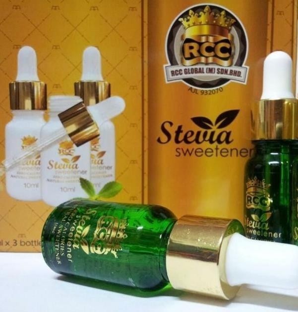 SWEETENER -STEVIA 10ml btl RCC