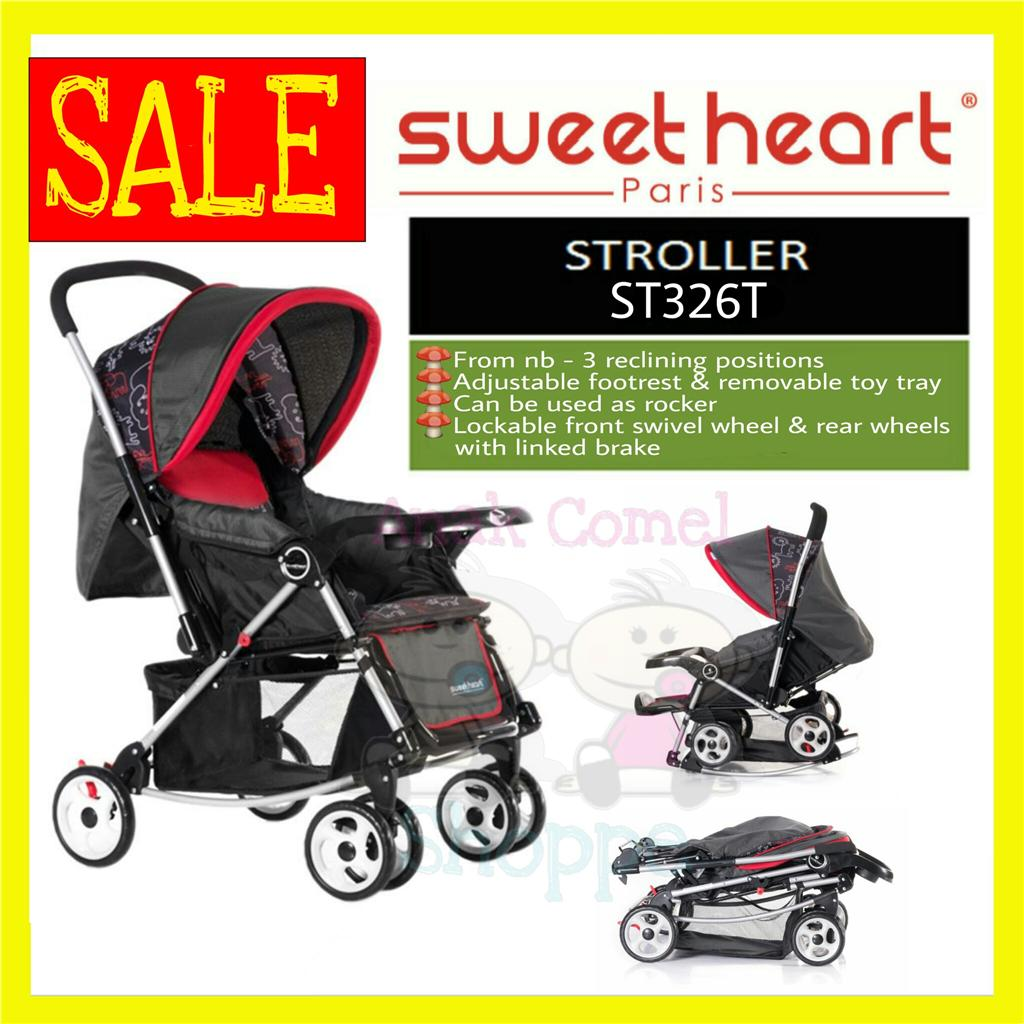 SWEETHEART PARIS ST326T STROLLER [FREE SHIPPING SM]