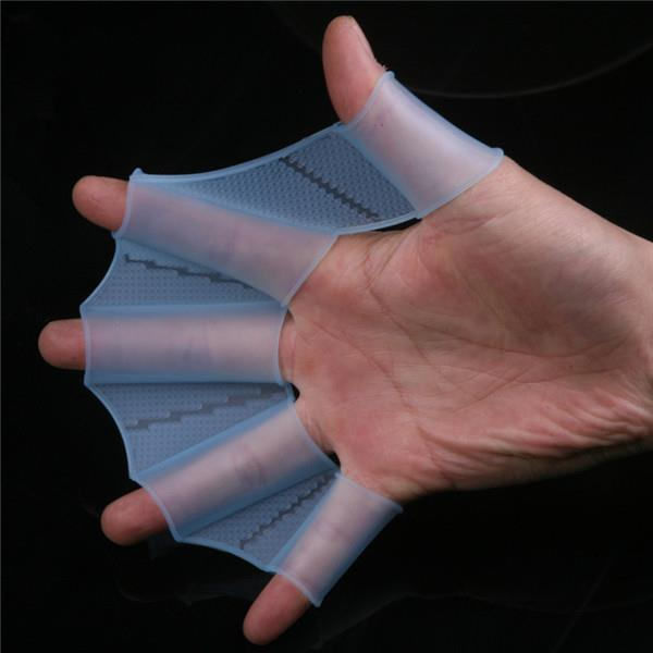Swimming Flippers Diving Fins (Blue L)