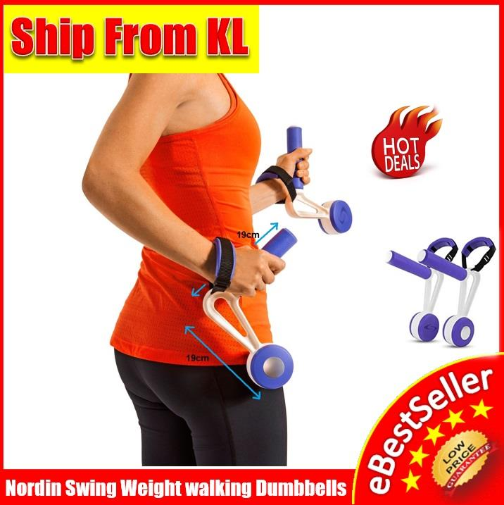 Swing weights 1 pairs Fitness walking Dumbbells Hand weights Exercise