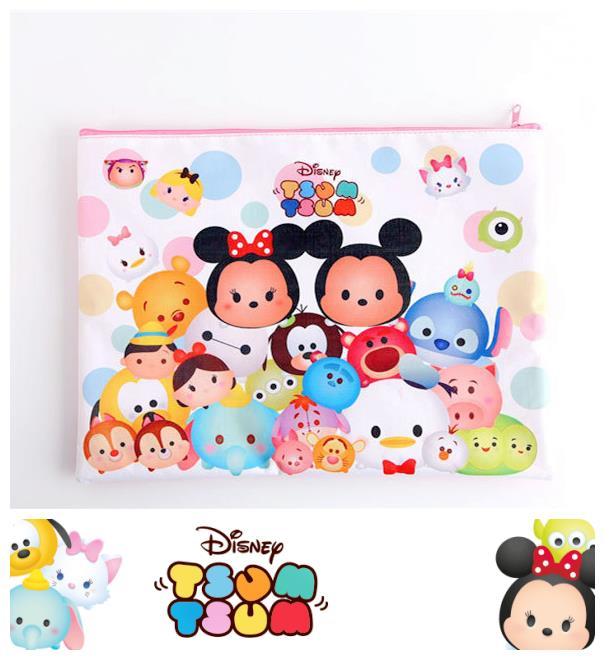 SY0186 ICONIC TSUM TSUM FILE POUCH