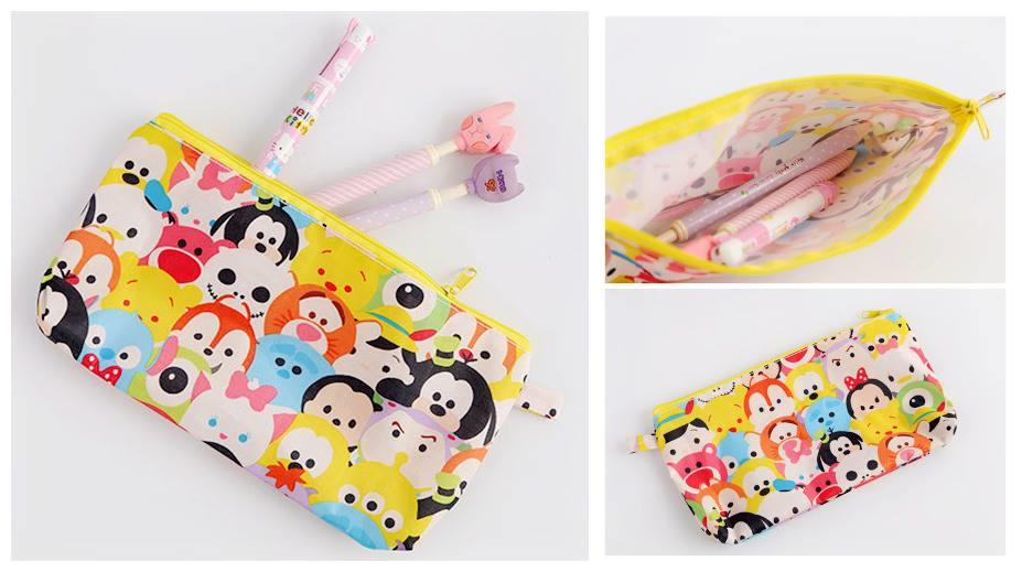 SY0188 ICONIC TSUM TSUM PENCIL POUCH