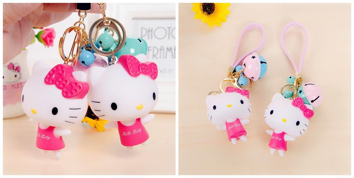 SY0358 ICONIC HELLO KITTY KEYCHAIN