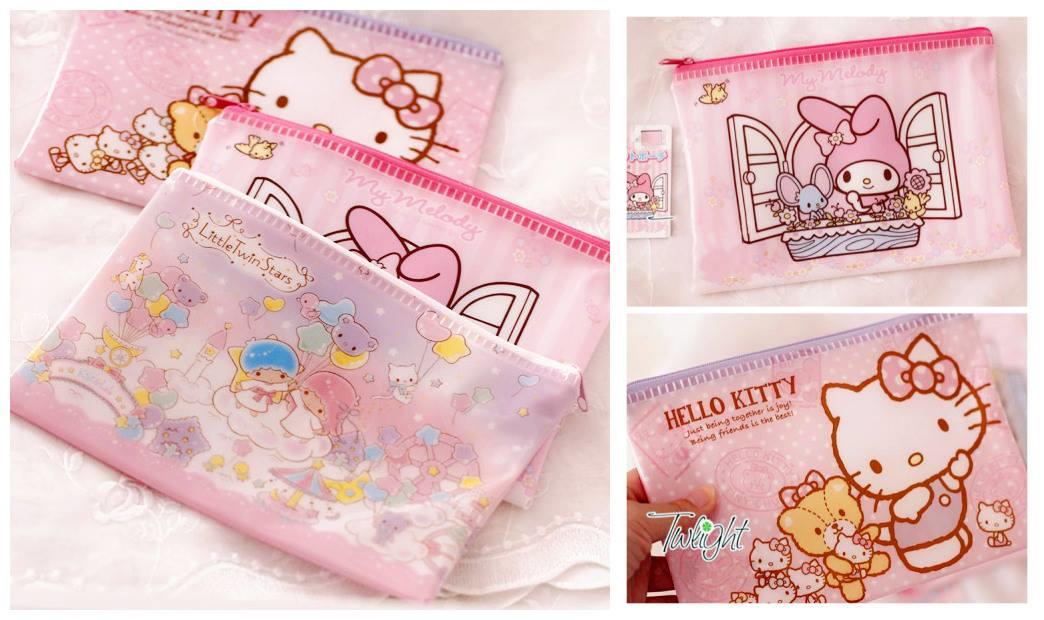 SY0388 PINKY WHIMSICAL CARTOON POUCH