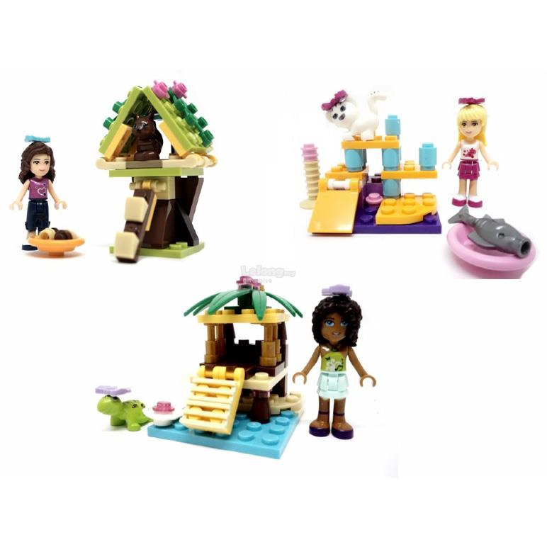 SY151 Friends Pets House (3 in 1)