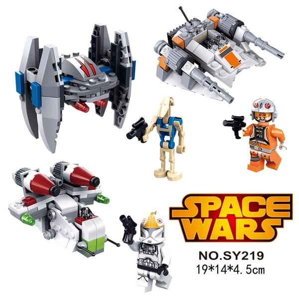 SY219 Star Wars Battle Troops 2nd Release 3 in 1