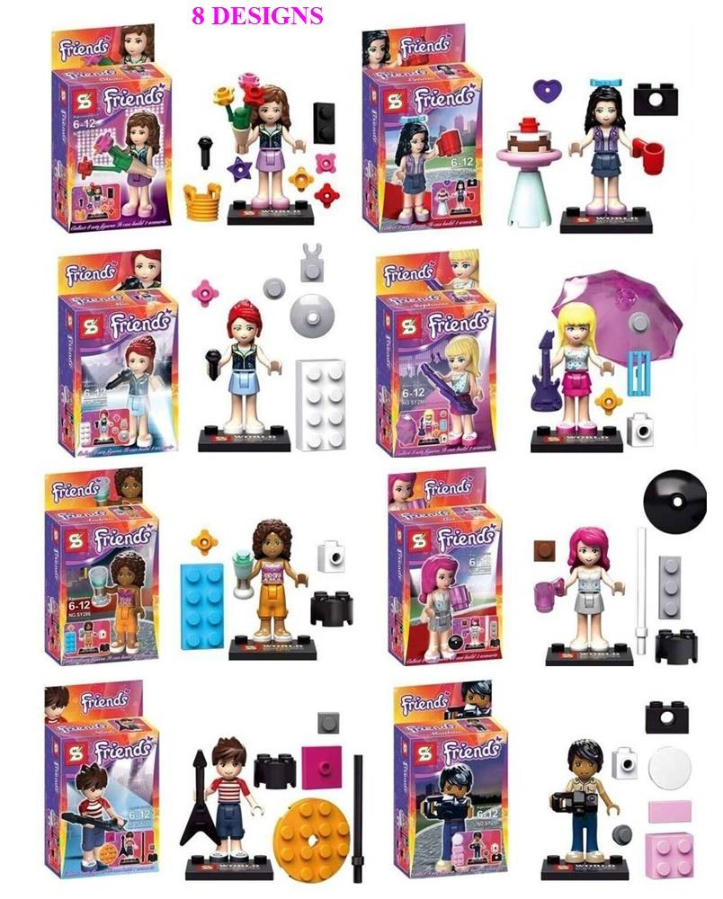 SY286 Friends Girl's Building Blocks Minifigure Birthday Gift