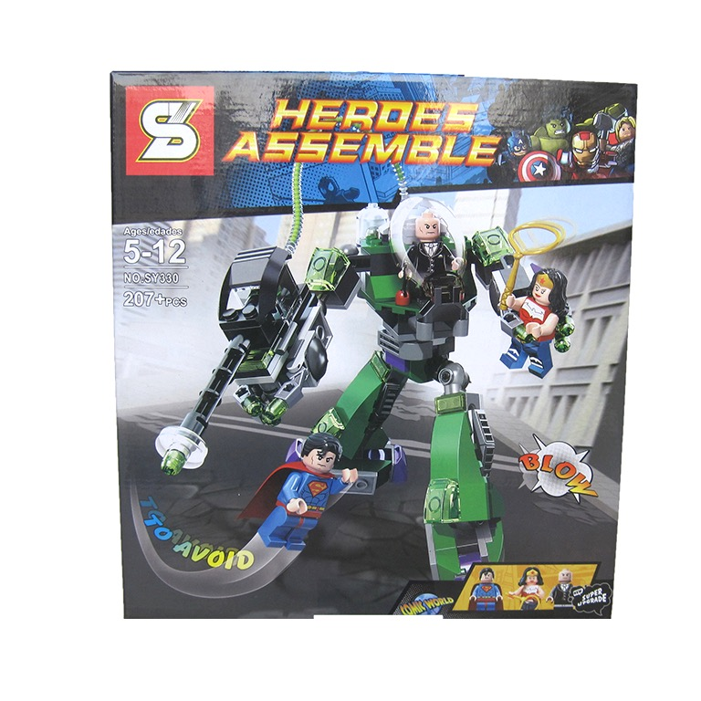 SY330 Super Heroes Power Armor Lex (207pcs)