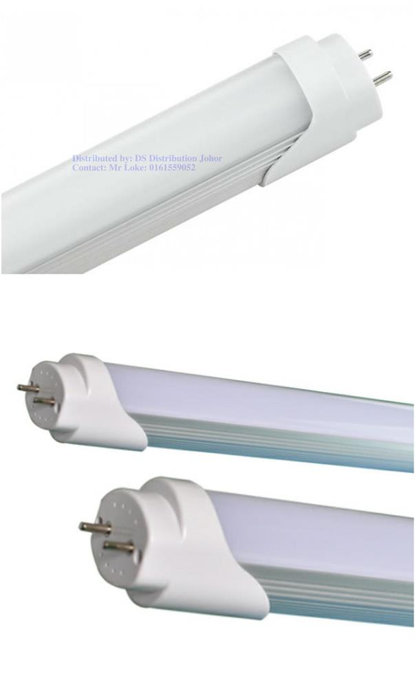 T8 LED 4ft Tube 18w- White 6500K