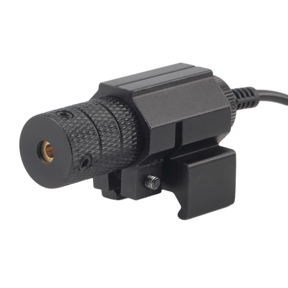 Tactical Red Laser Sight With Tail Switch Remote Switch Scope For Hunt..