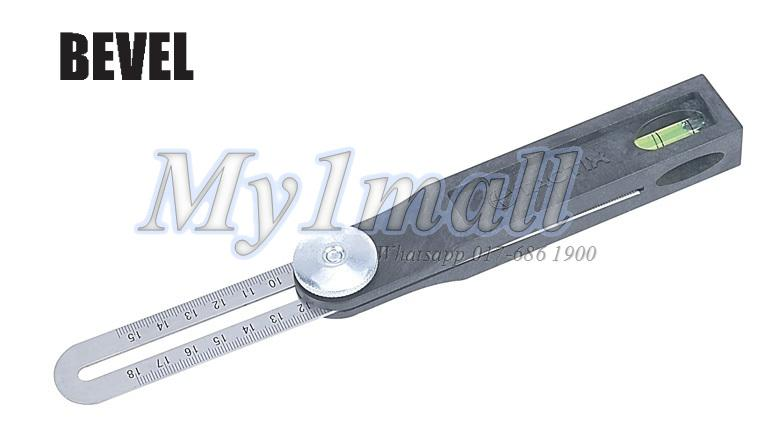 TACTIX 239161 RULER BEVEL 200MM