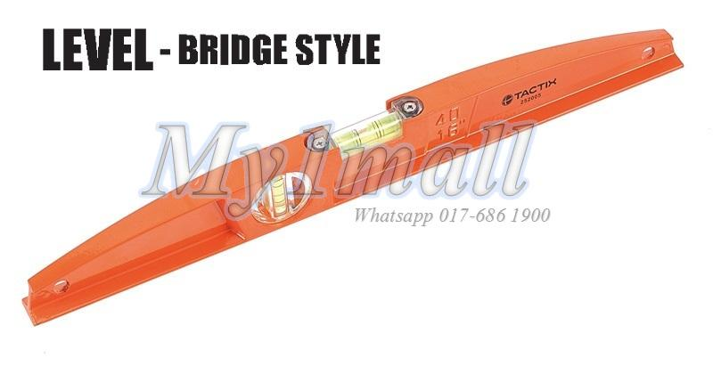 TACTIX 252007 LEVEL 24?600MM BRIDGE STYLE