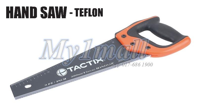 "TACTIX 265013 SAW HAND 500MM/20"" TEFLON"