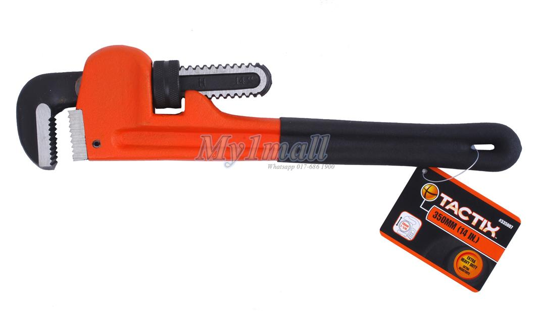 TACTIX 335007 PIPE WRENCH 350MM/14""