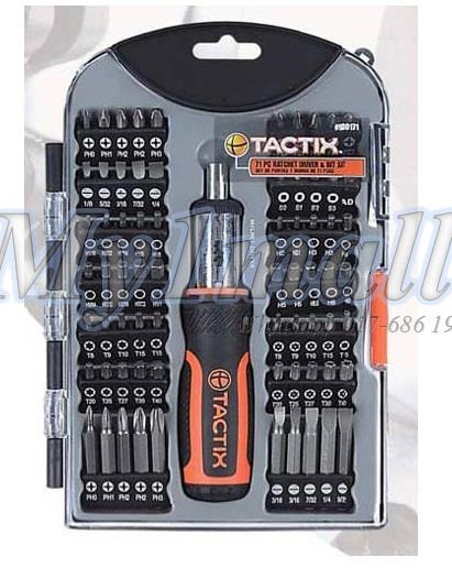 TACTIX 900171 71PC BIT SET - SAE