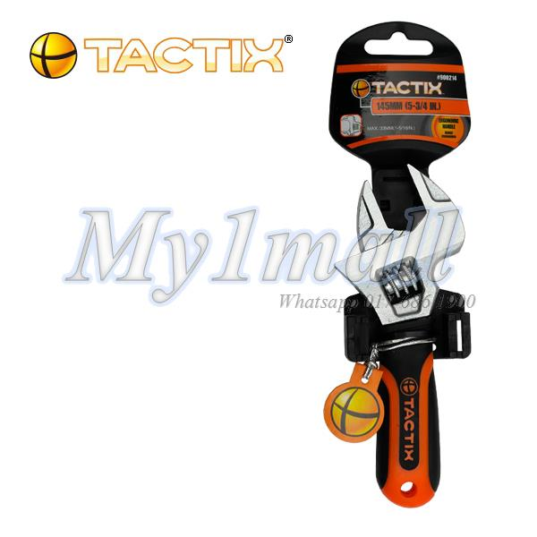 TACTIX 900214 STUBBY ADJ WRENCH 145MM/5-3/4IN.