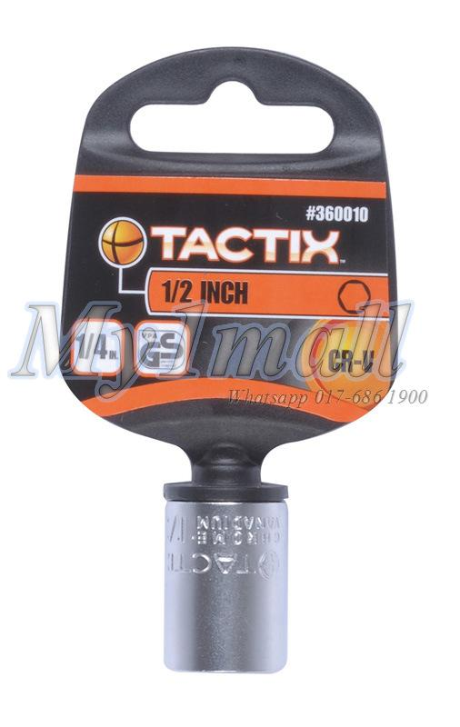 TACTIX SOCKET 1/4'DR 6PT-SET C