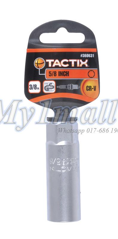 "TACTIX SOCKET 3/8""DR SPARK PLUG SOCKET-SET A"