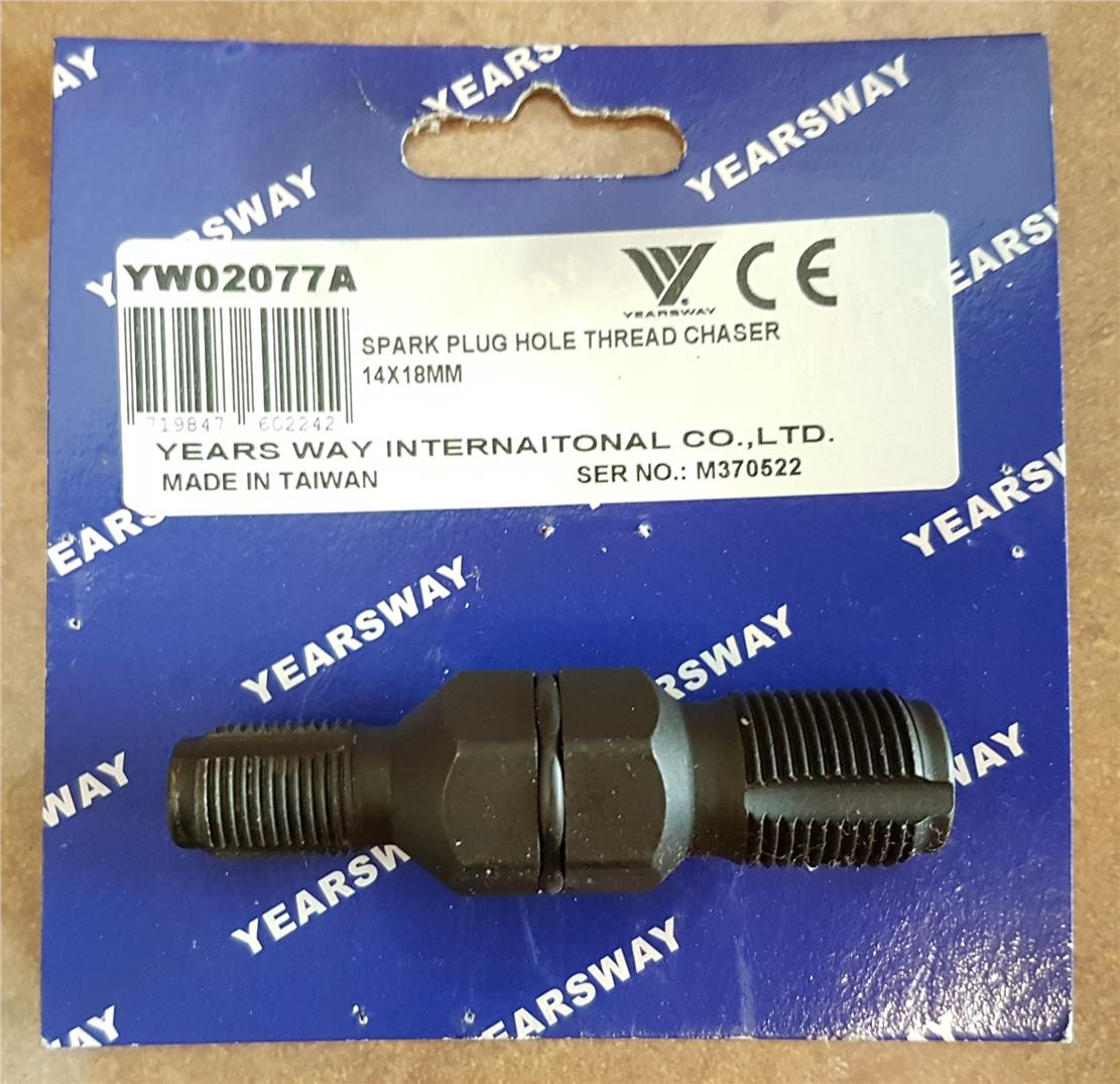 Taiwan Yearsway Spark Plug Hole Thread Chaser  ID775707