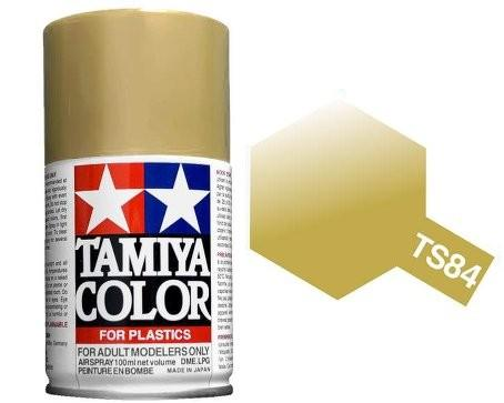 TAMIYA TS-84 METALLIC GOLD SPRAY PAINT