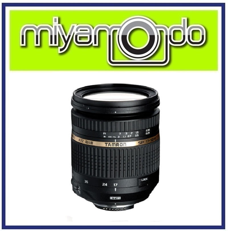 [USED] Tamron 17-50mm F2.8 VC Lens for Nikon