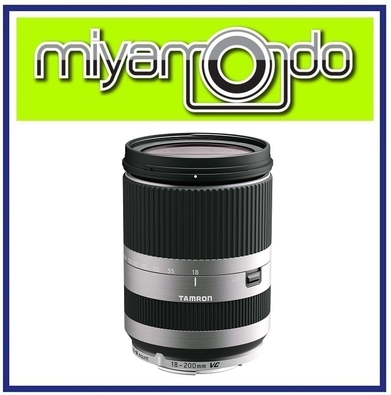 NEW Tamron 18-200mm f/3.5-6.3 Di III VC for Canon EOS M (Silver)