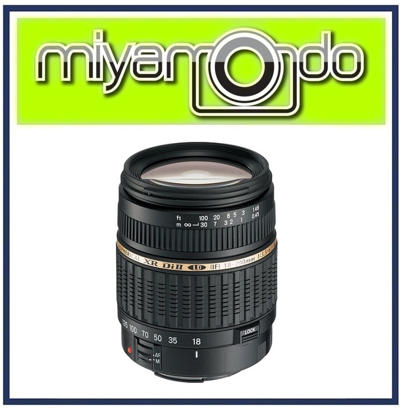 [USED] Tamron AF 18-200mm F3.5-6.3 XR Di II Macro Lens for Nikon