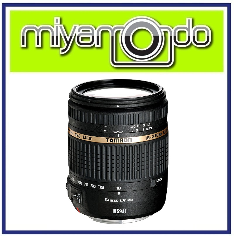 [USED] Tamron AF 18-270mm F3.5-6.3 Di VC PZD Lens for Canon