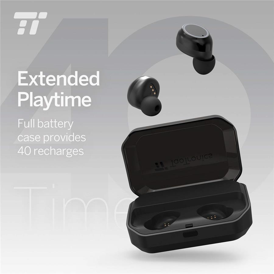 TaoTronics BH052 TWS Wireless Earbuds + Powerbank, Bluetooth Earbuds