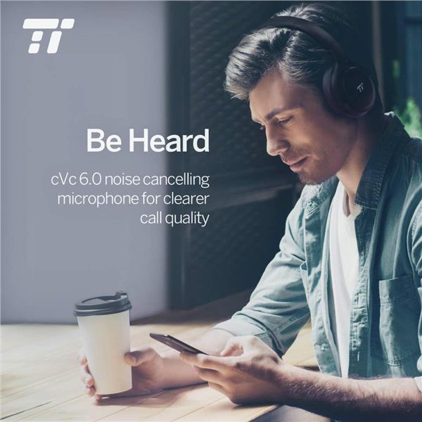 TaoTronics BH22 Active Noise Cancelling Bluetooth Cordless Headphones