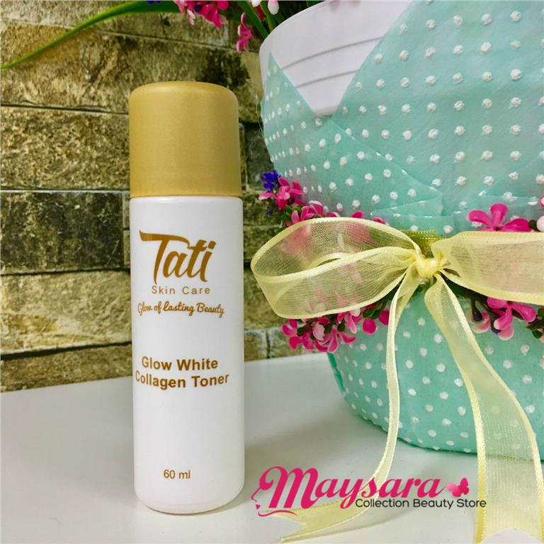 Tati Skincare Loose Items: Glow White Collagen Toner 60ml: Free Pos SM