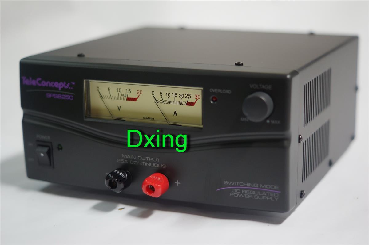 Teleconcepts SPS 8250 Switching Power Supply@25Amp for yaesu icom