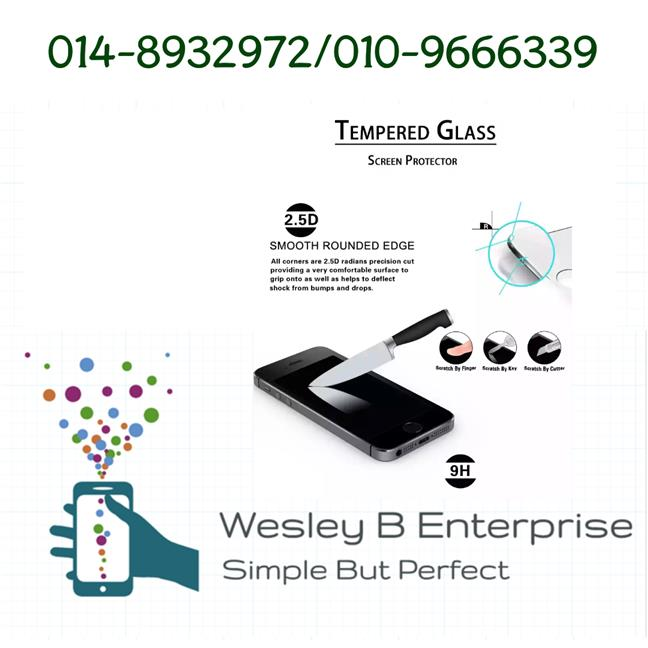 Tempered Glass Samsung Note 4 9H 2.5D 0.33mm