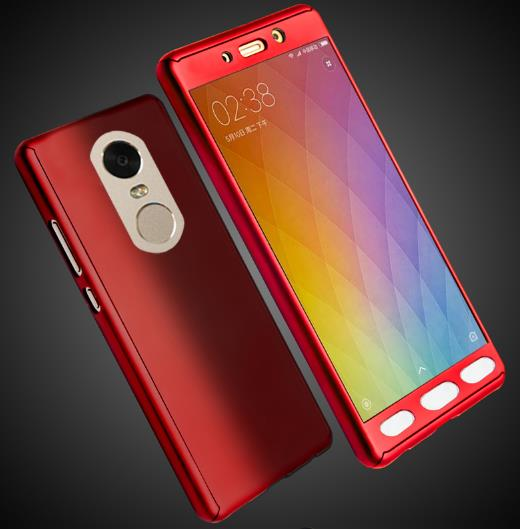 @Tempered Glass Xiaomi Redmi 3x 3s Note 3 Back Case Cover Casing