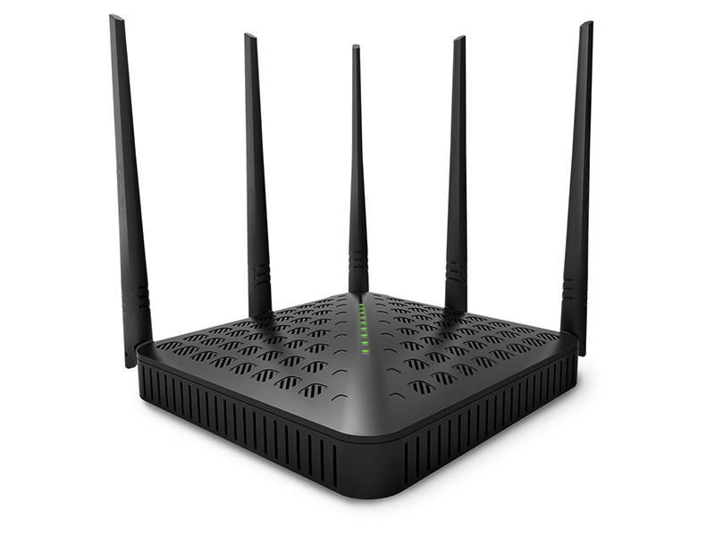 TENDA AC1200 HIGH POWER WIRELESS DUAL BAND ROUTER  (6932849420104)