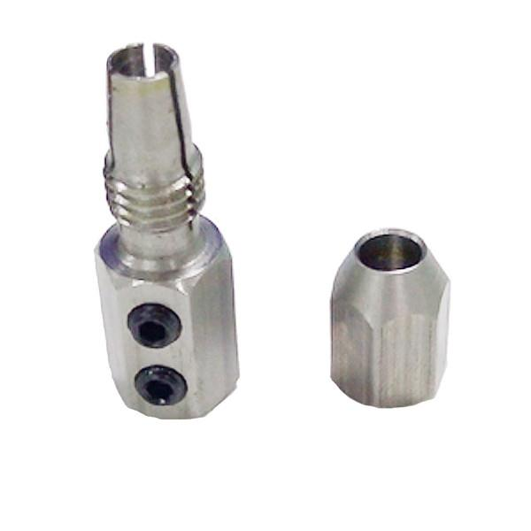 TFL 5.0mm To 4mm Stainless Steel Flex Collet Coupler Shaft