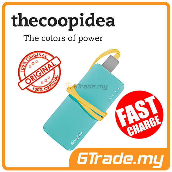 THECOOPIDEA 5200 mAh PowerBank Touch Light 2.4A Fast Charger | Blue