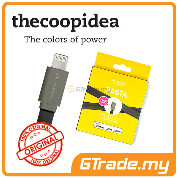 THECOOPIDEA Lightning Fast Charger USB Cable BK Apple iPhone 5S 5C 5