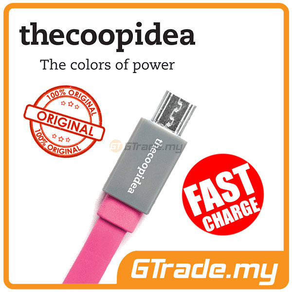 THECOOPIDEA Micro USB Fast Charger Cable PK Sony Xperia Z3 Z1 Z2 ZR Z