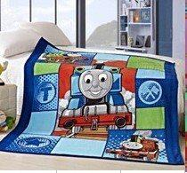 THOMAS SMALL CORAL FLEECE BLANKET