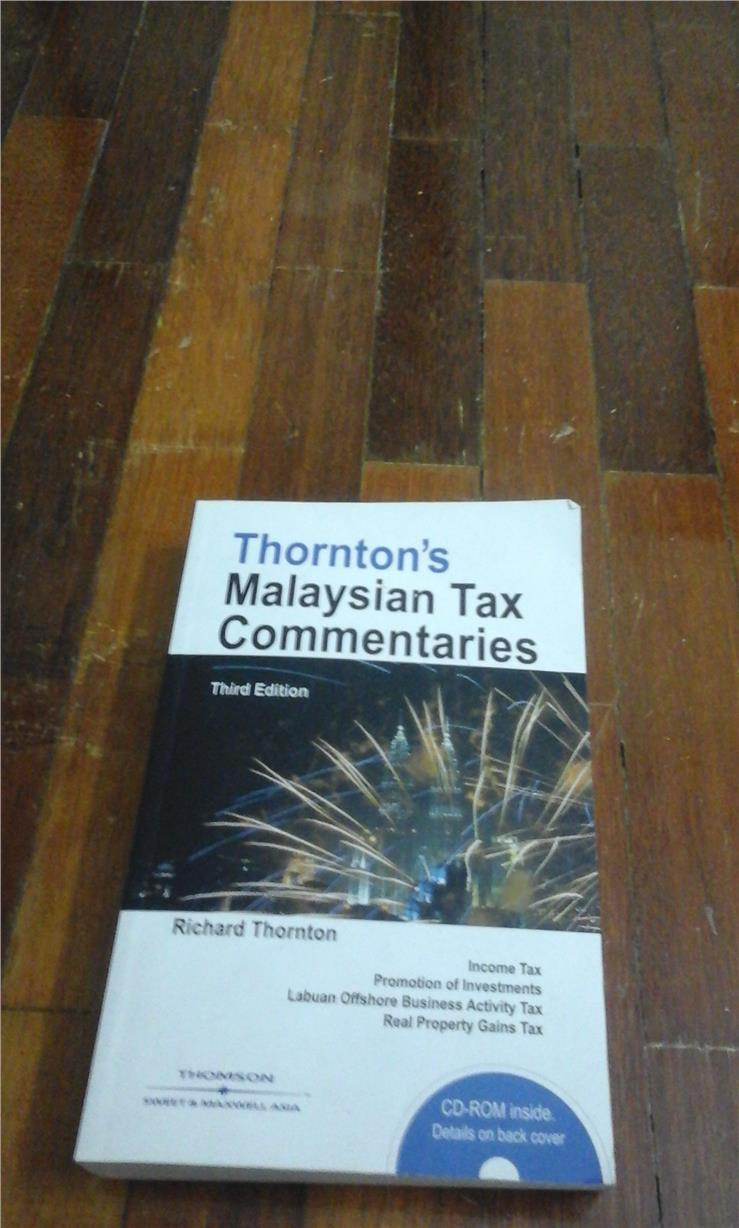Thornton's Malaysian Tax Commentaries