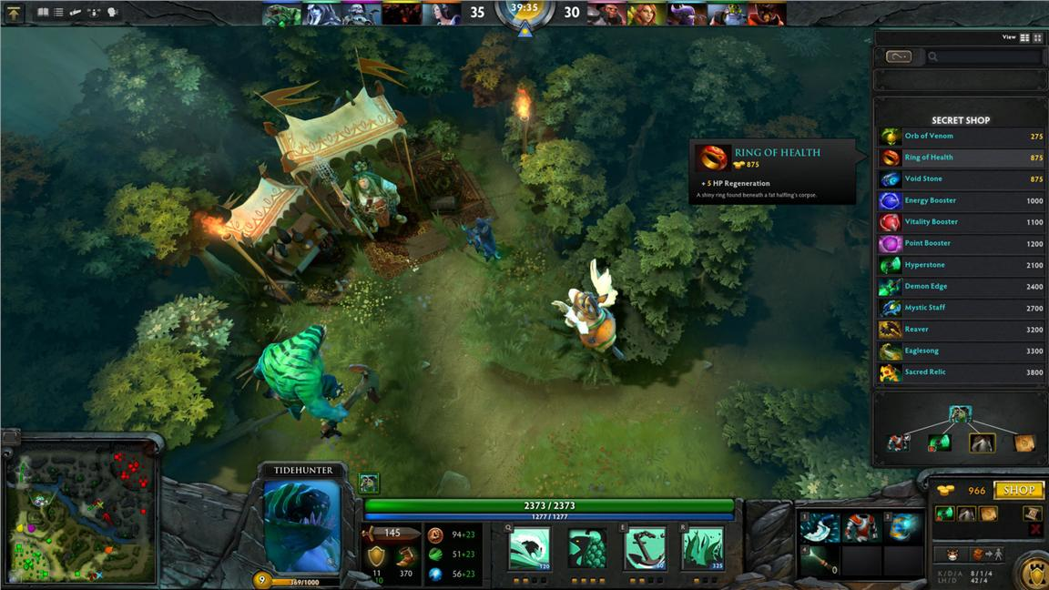 TIDEHUNTER: DOTA ACTION FIGURE DEMIHERO DOLL GIFT COLLECTION