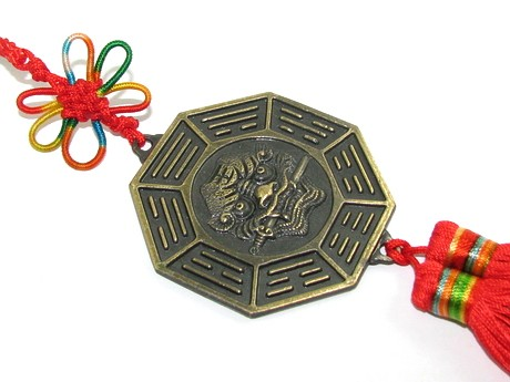 Tiger Biting Sword 12 Horoscope Bagua Tassels for Protection