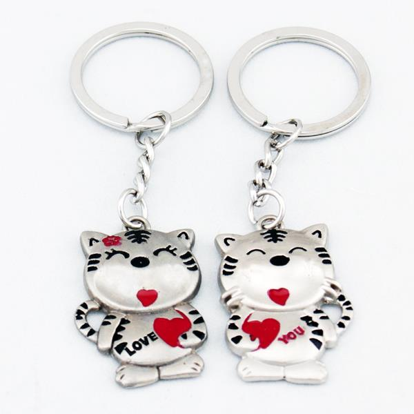 Tigers In Lover Lover Couple Key Chain Keychain K62